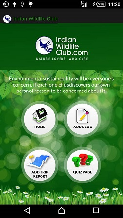 Download Indian Wildlife Club Android app